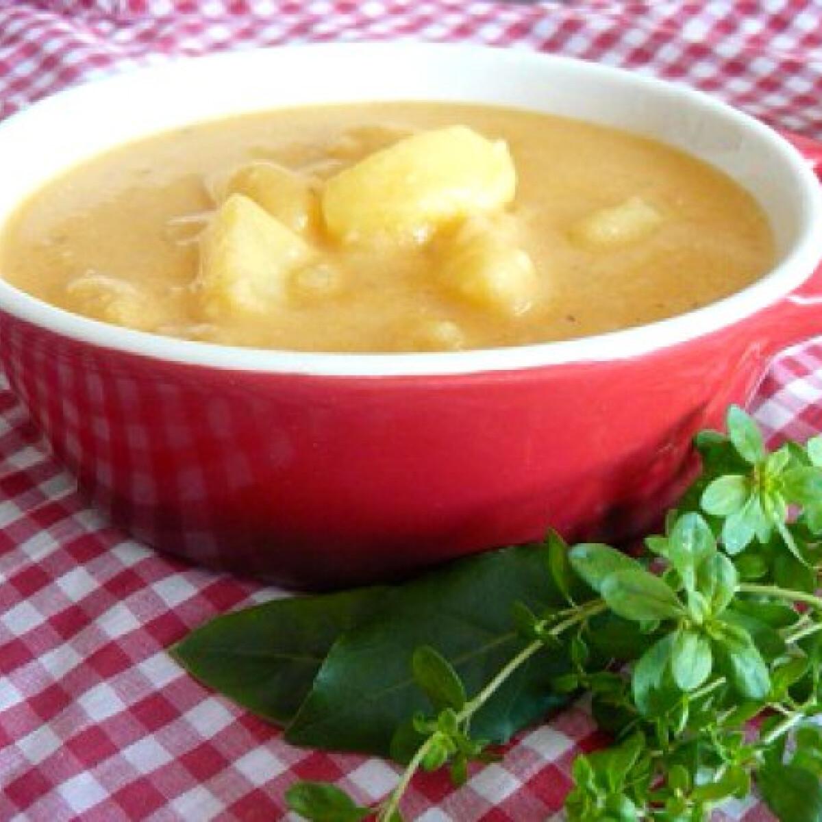 Ezen a képen: Krumplifőzelék liszt nélkül