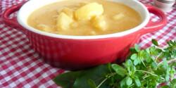 Krumplifőzelék liszt nélkül