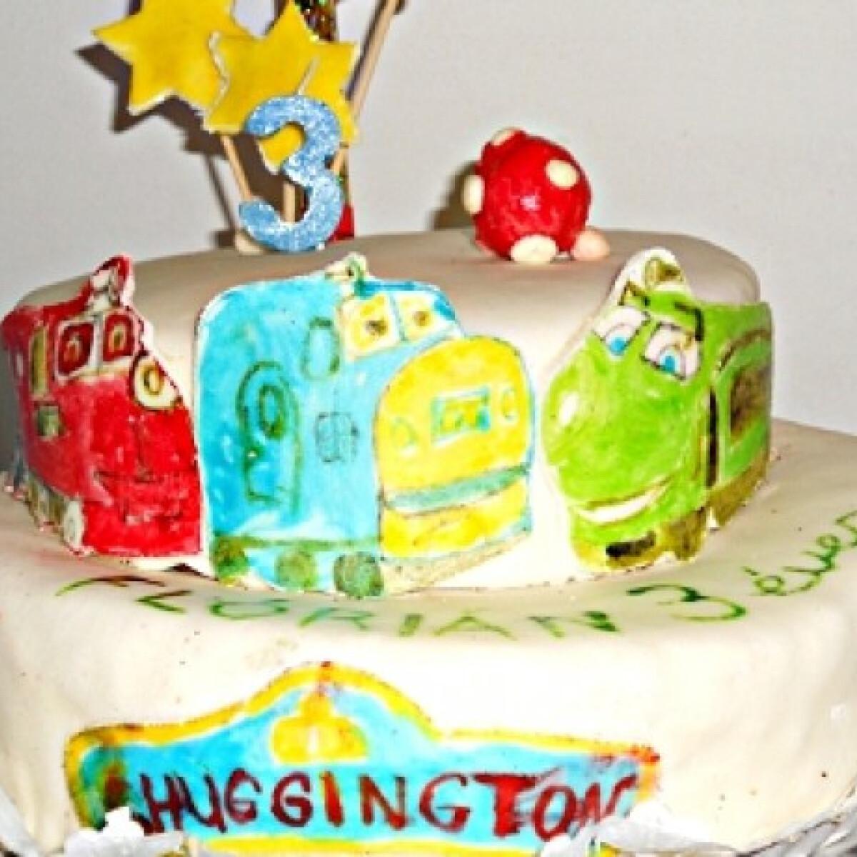 Ezen a képen: Chuggington torta