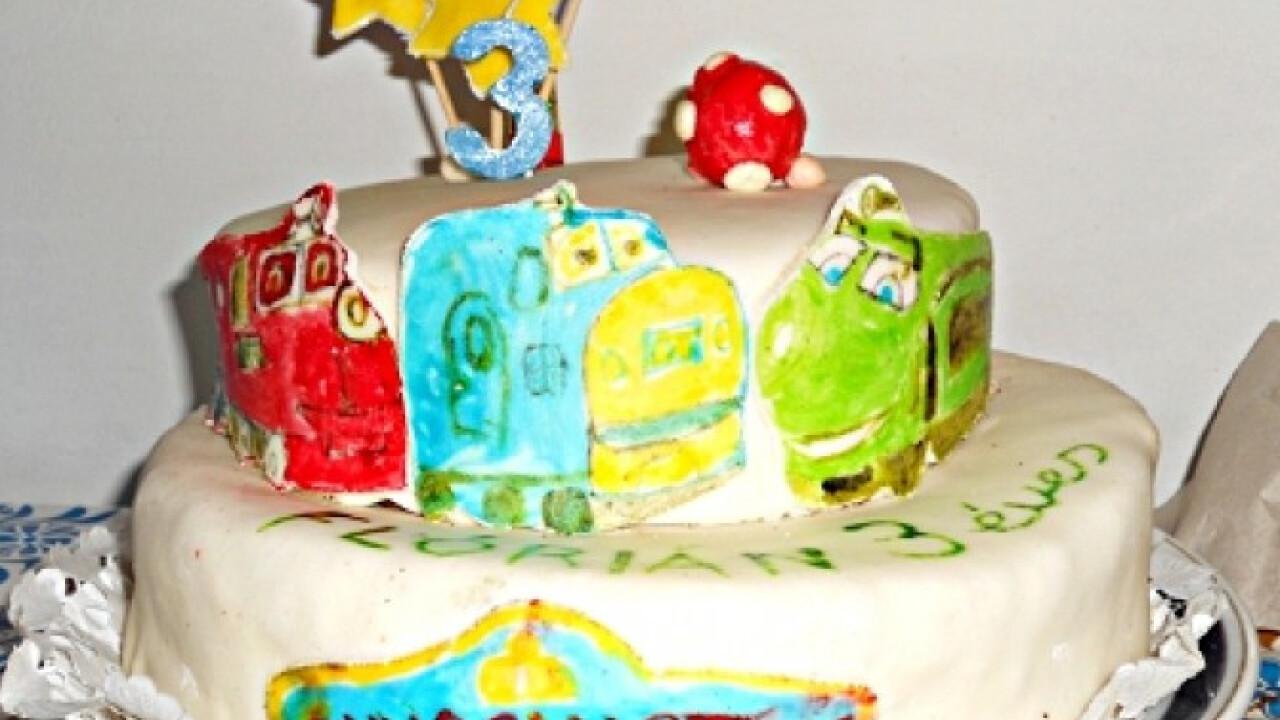 Chuggington torta