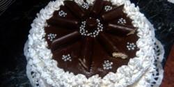 Túró rudi torta kicsit másképp