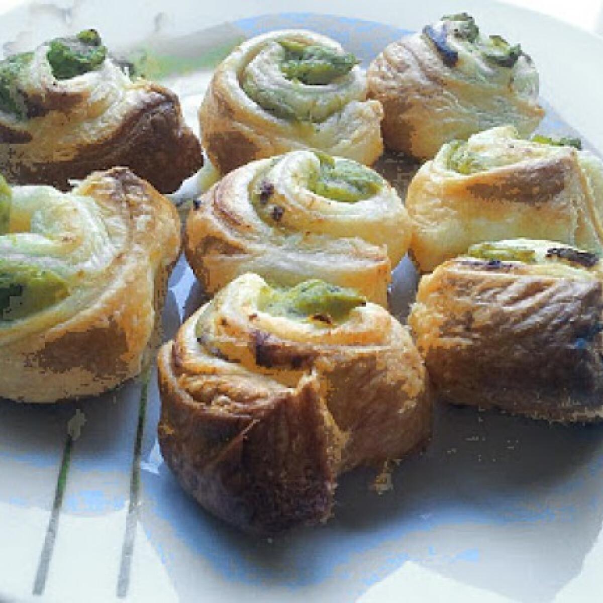 Ezen a képen: Brokkolis csigák Baklavaria konyhájából