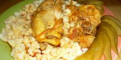 Csirkepörkölt nokedlivel helena konyhájából