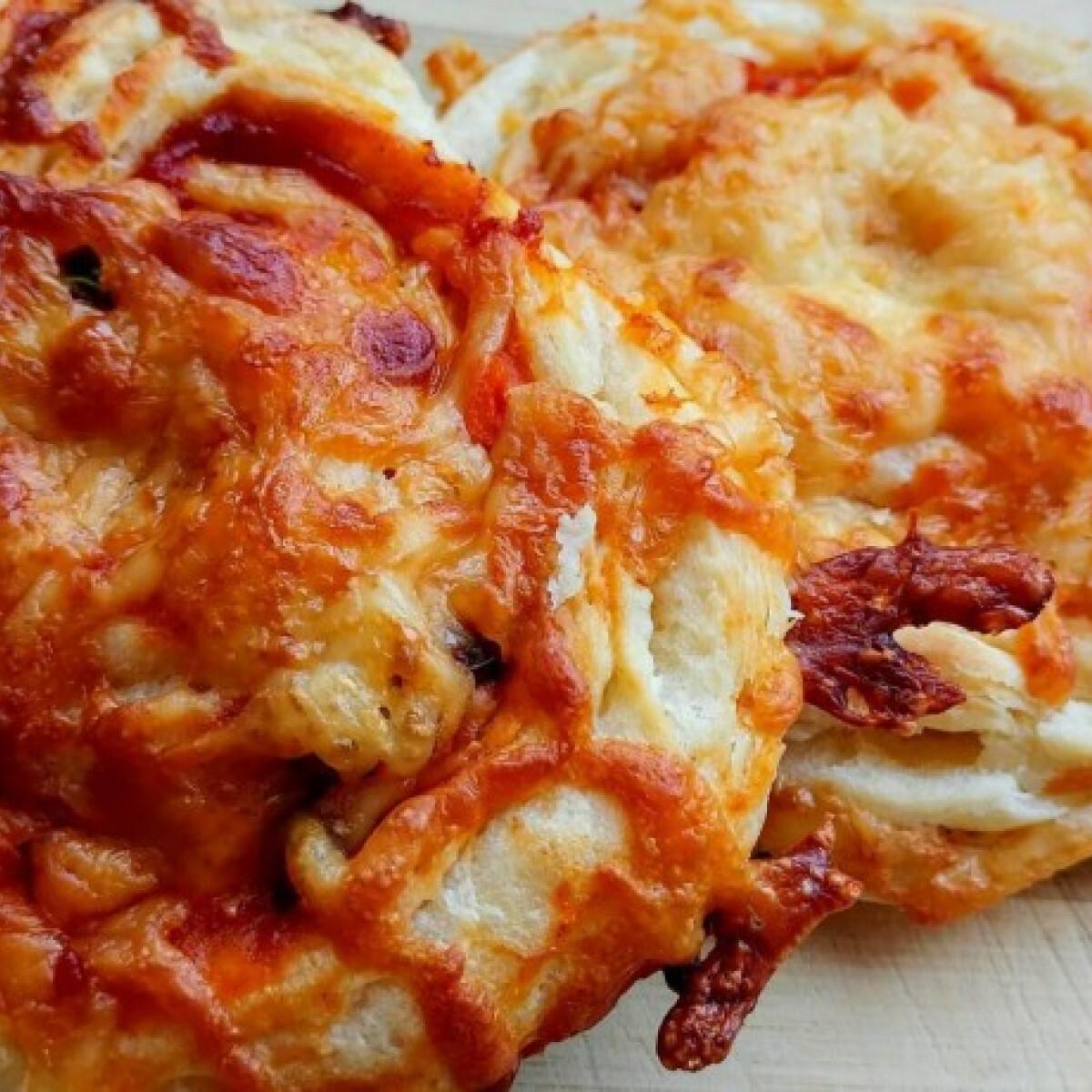 Ezen a képen: Pizzás csiguszok