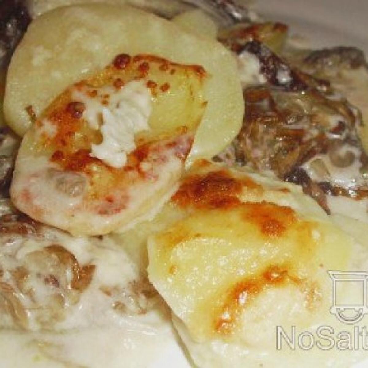 Ezen a képen: Krumplis lasagne