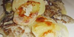 Krumplis lasagne