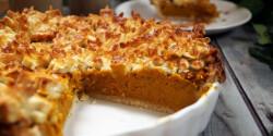Sütőtökös pite Szotyi művektől
