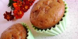Körtedarabos muffin