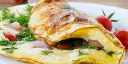 Friss zöldfűszeres omlett