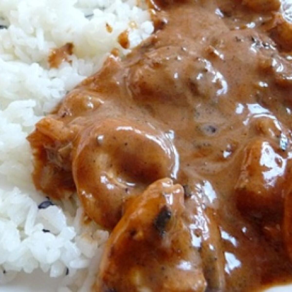 Curry kókusztejjel