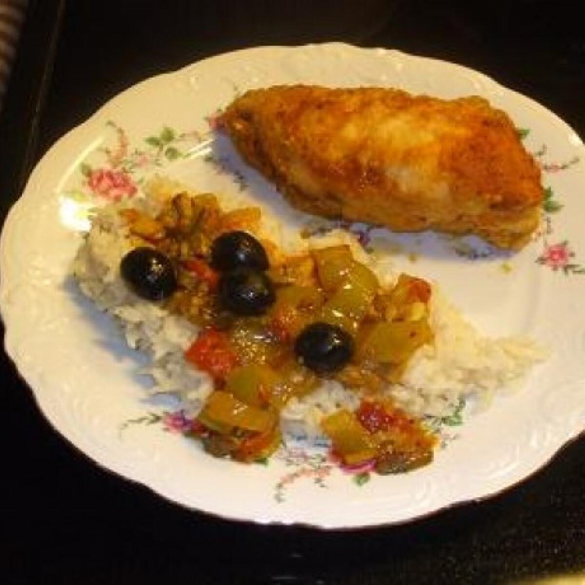 Ezen a képen: Csirke olaszosan avagy chicken cacciatore