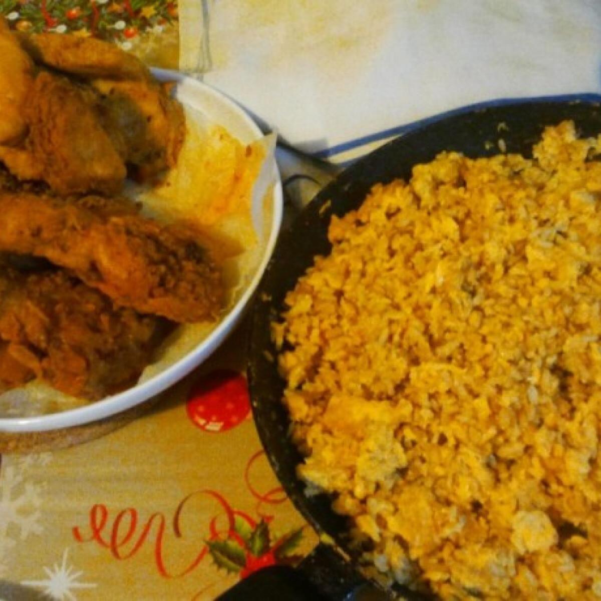 Reform tojásos rizs és húsfalatok