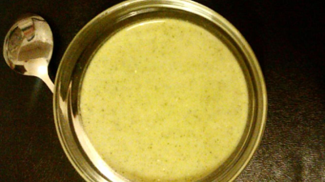 Brokkolikrémleves hami konyhájából