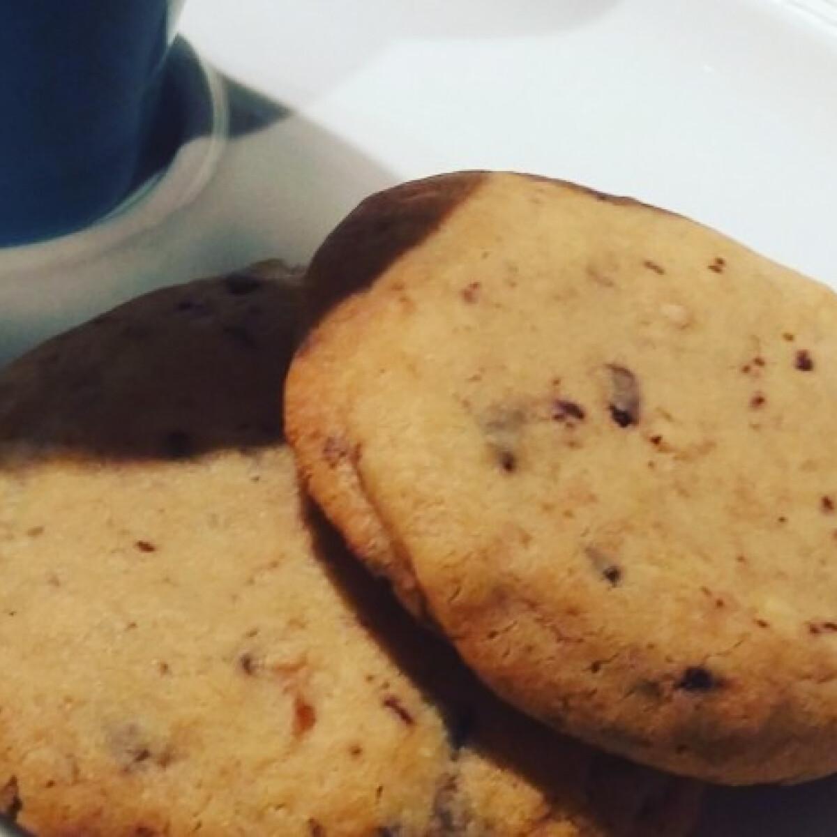 Étcsokis-mogyoróvajas cookie