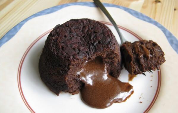 Csokoládészuflé Alma konyhájából