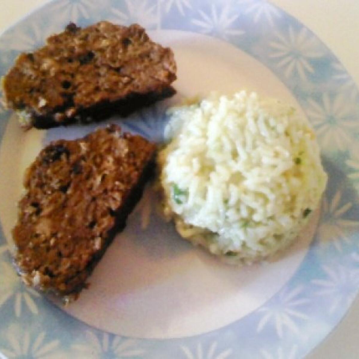 Májas-húsos fasírtrúd