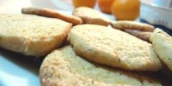 Narancsos- mogyorós keksz