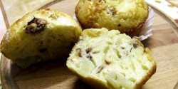 Ananászos-diós muffin