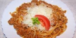 Bolognai spagetti 6.