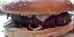 Hamburger ahogy petione készíti