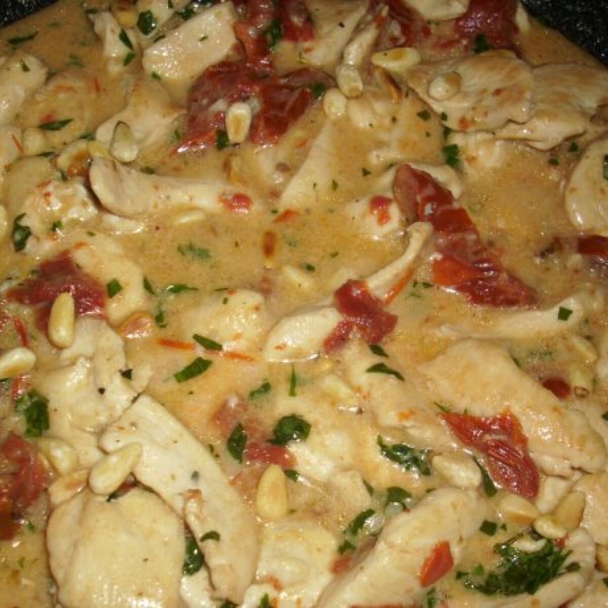 Gorgonzolás csirkemell