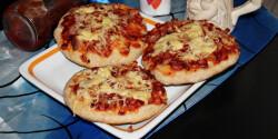 Kolozsvári mini pizzakorong bögrésen