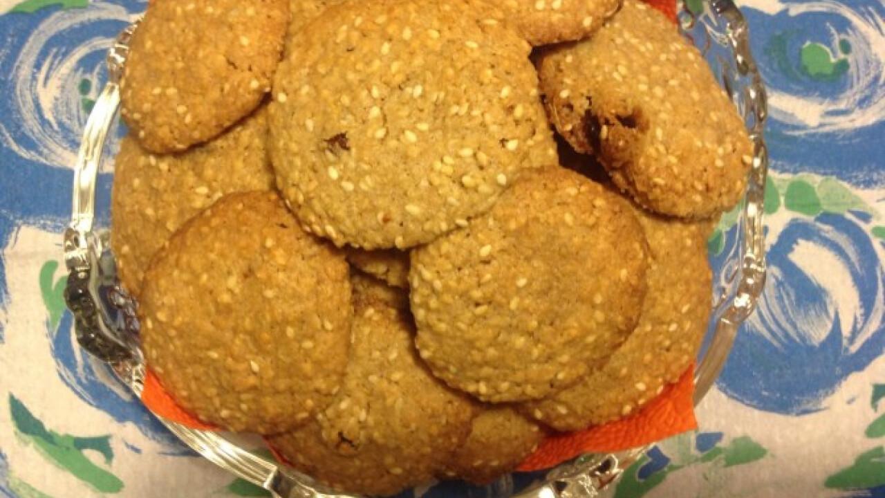 Szezámos keksz
