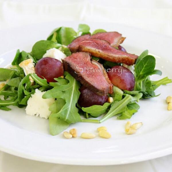 Az ősz színe-java saláta