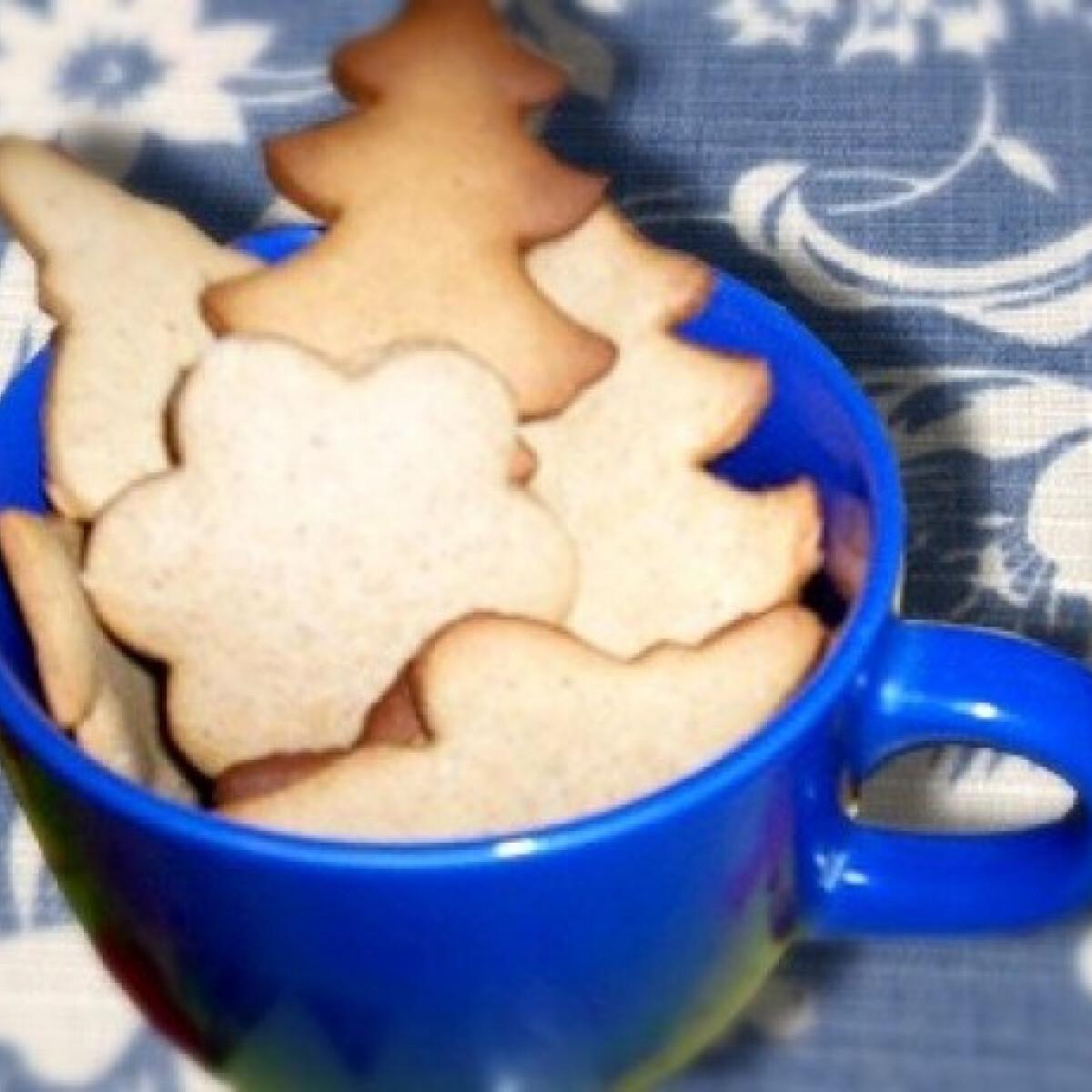 """Ezen a képen: """"Ó mama"""" karácsonyi mézes keksze"""