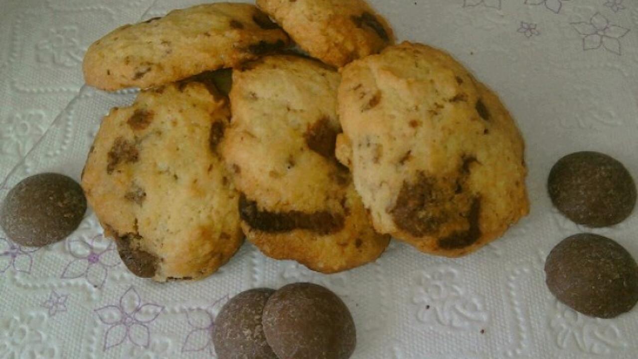 Csokoládés keksz Orsy konyhájából