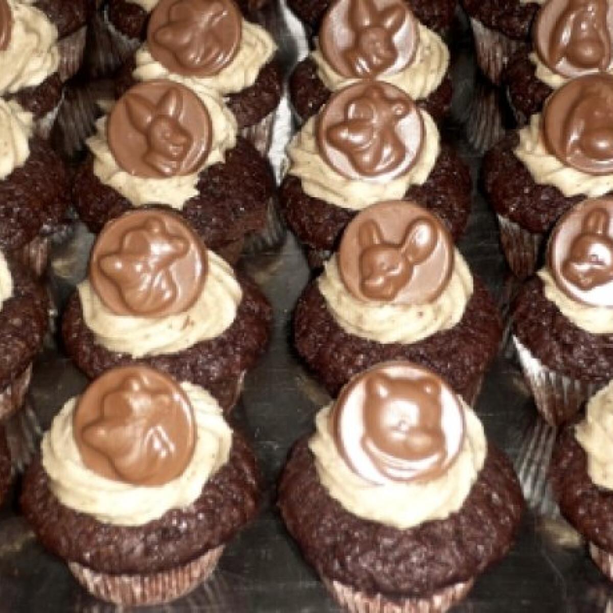 Ezen a képen: Micimackós muffin