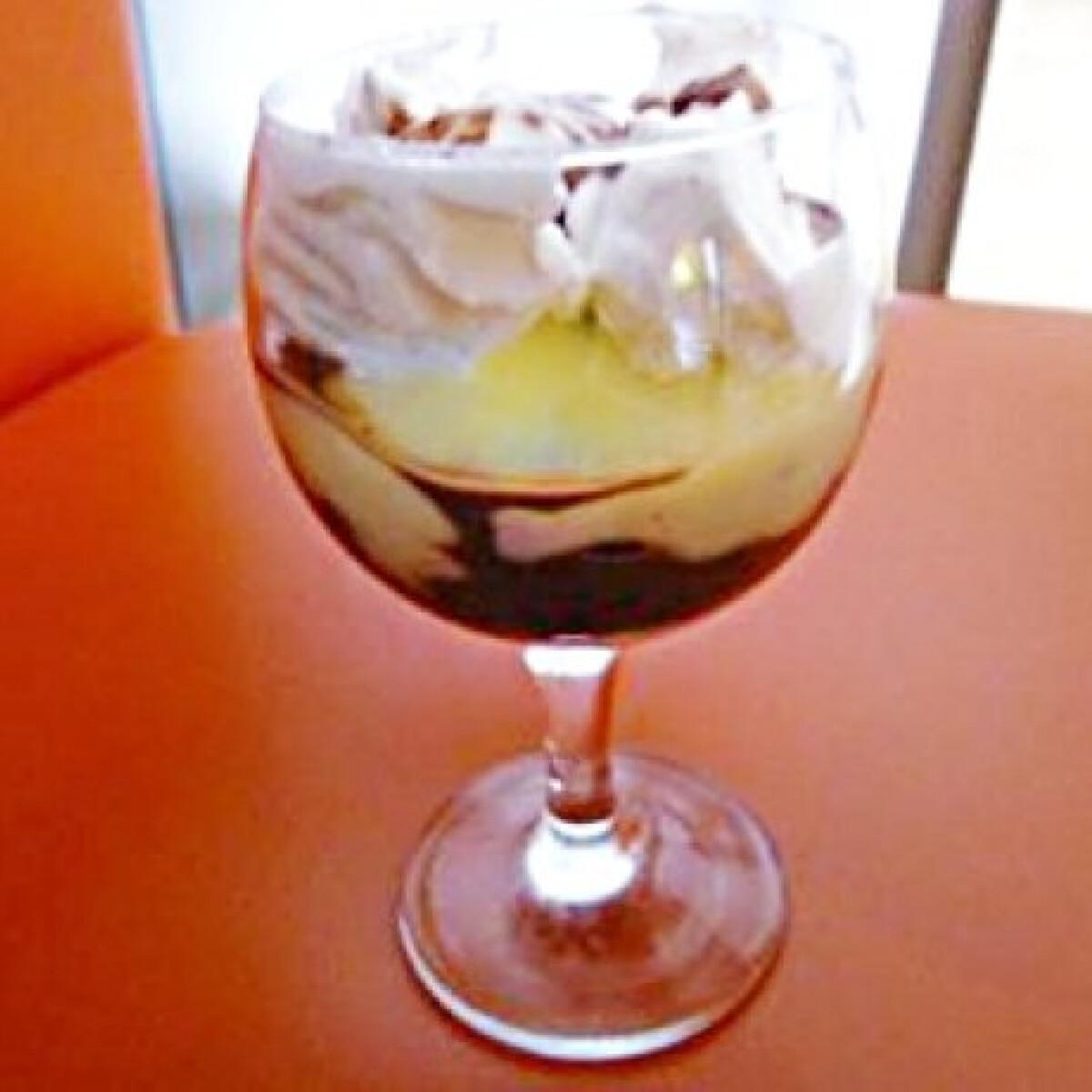Poharas somlói galuska dió nélkül