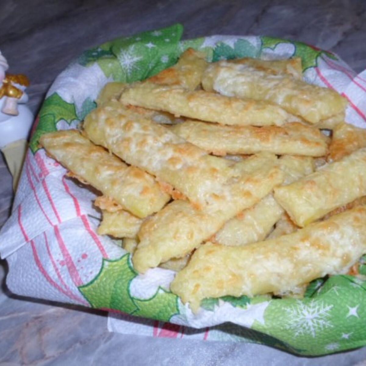 Ezen a képen: Burgonyás-sajtos rúd