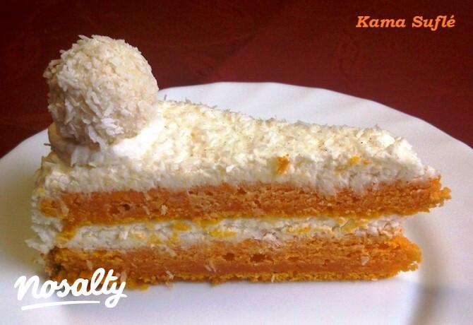 Ezen a képen: Sütőtöktorta kókuszos mascarpone krémmel