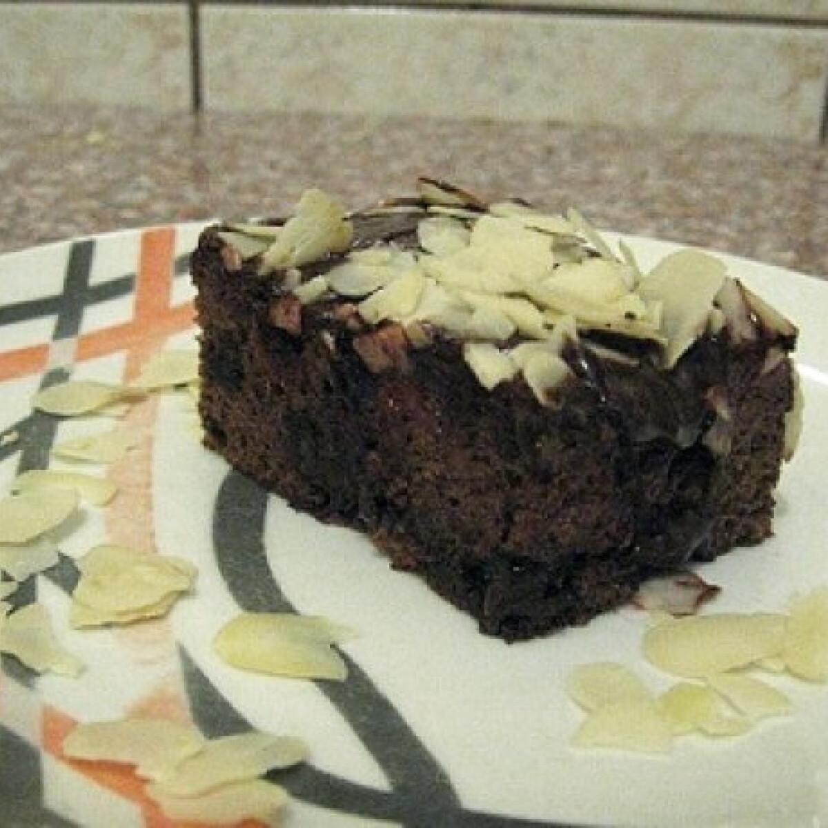 Ezen a képen: Gluténmentes étcsokoládés kocka