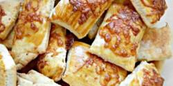 Paprikás-sajtos falatok