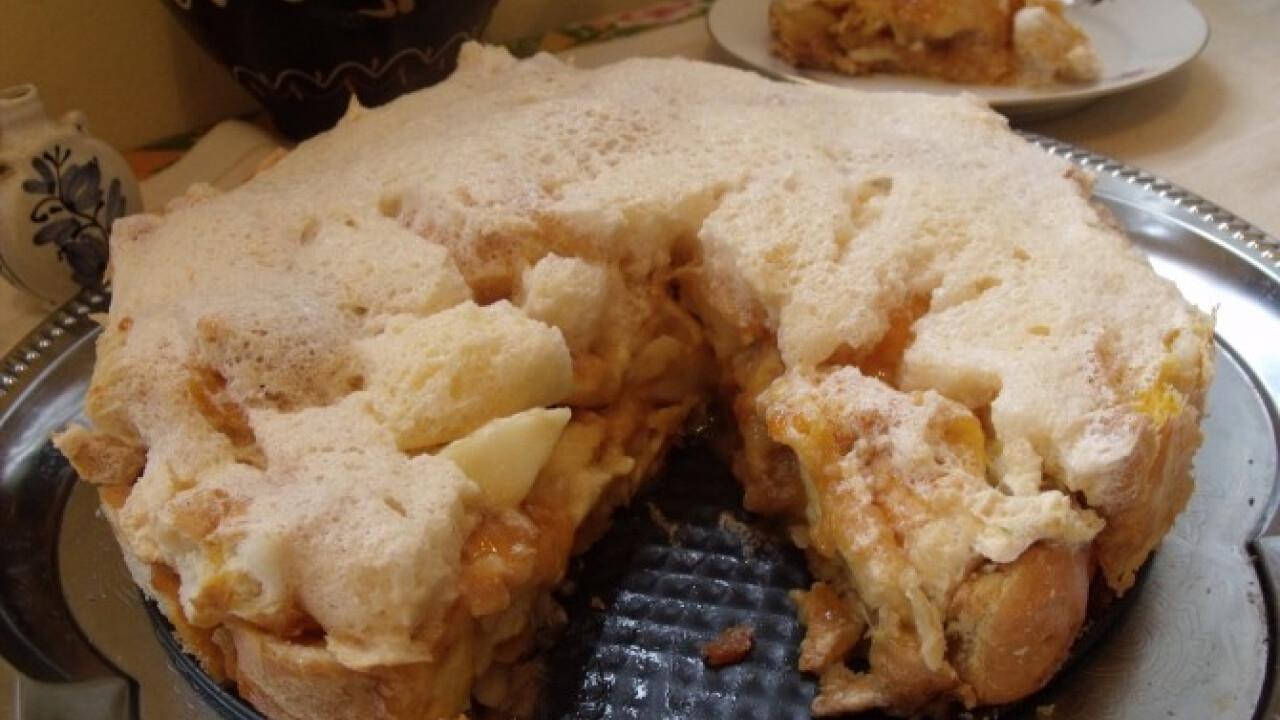 Máglyarakás torta