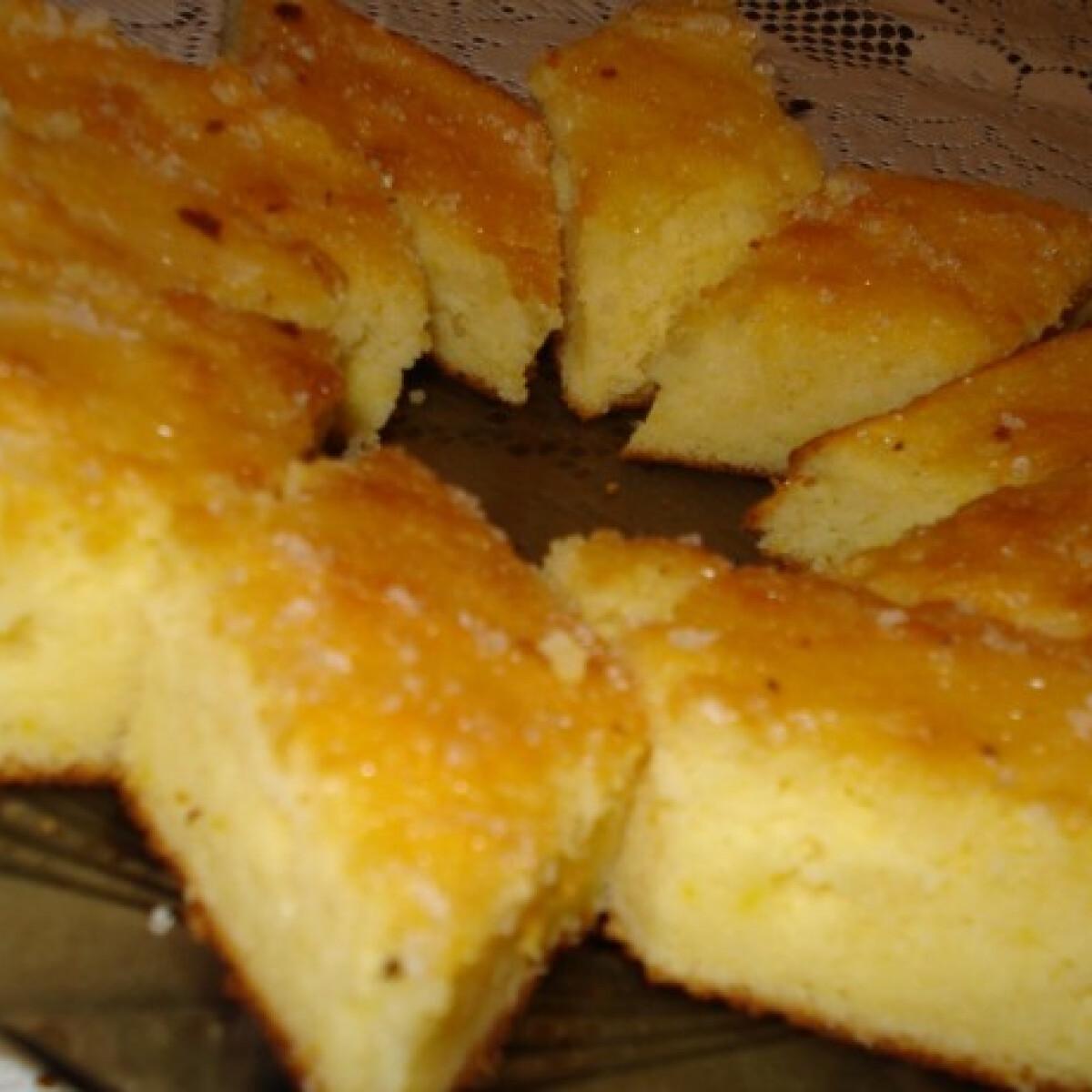 Ezen a képen: Duplán citromos süti
