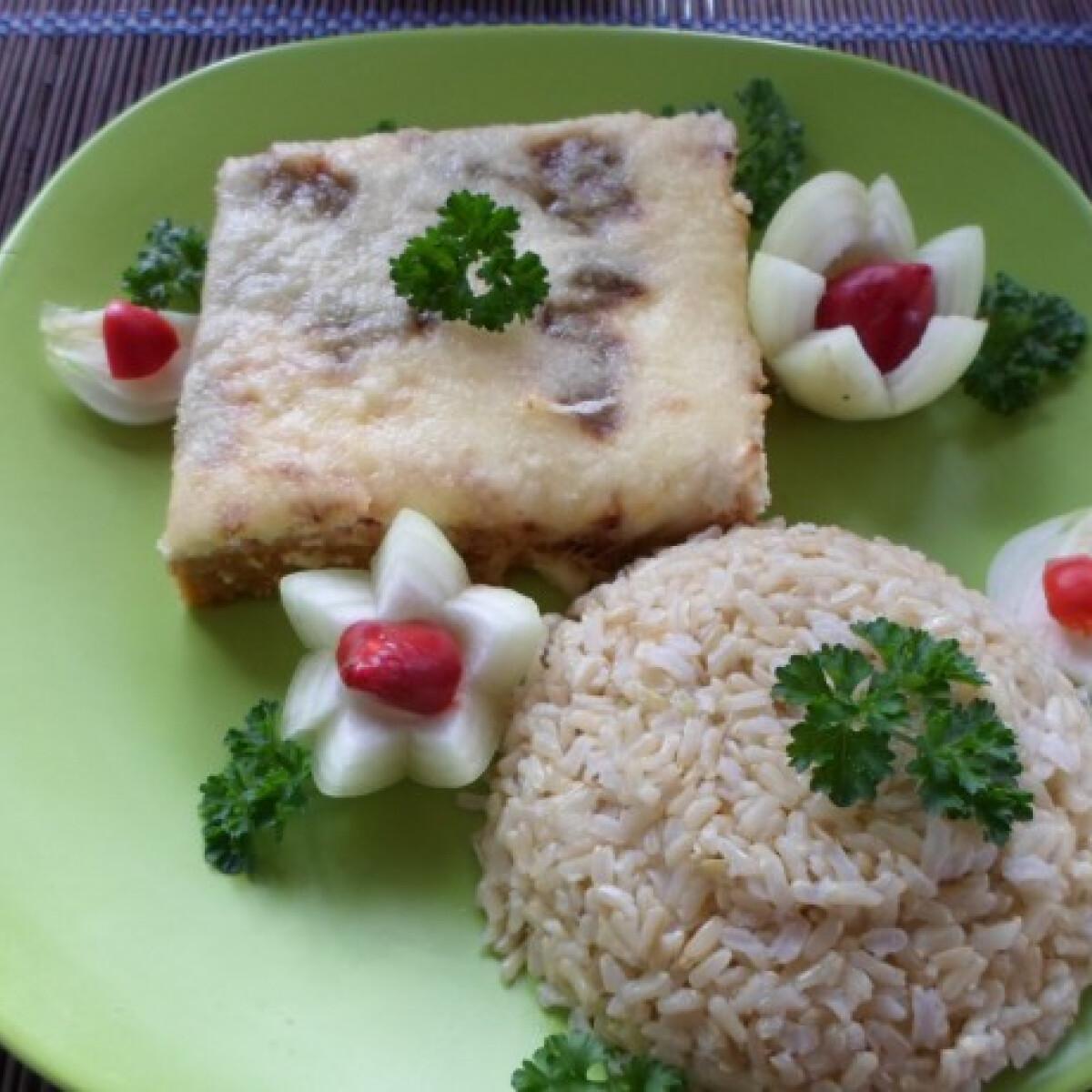 Sajtos-tejfölös tepsis fasírt