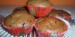 Csokis-meggyes muffin Mévi konyhájából