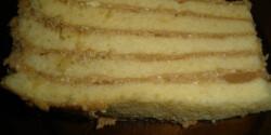 Hatlapos karamell szelet