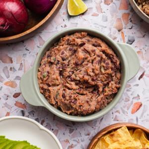 Frijoles refritos, a mexikói sültbabpüré