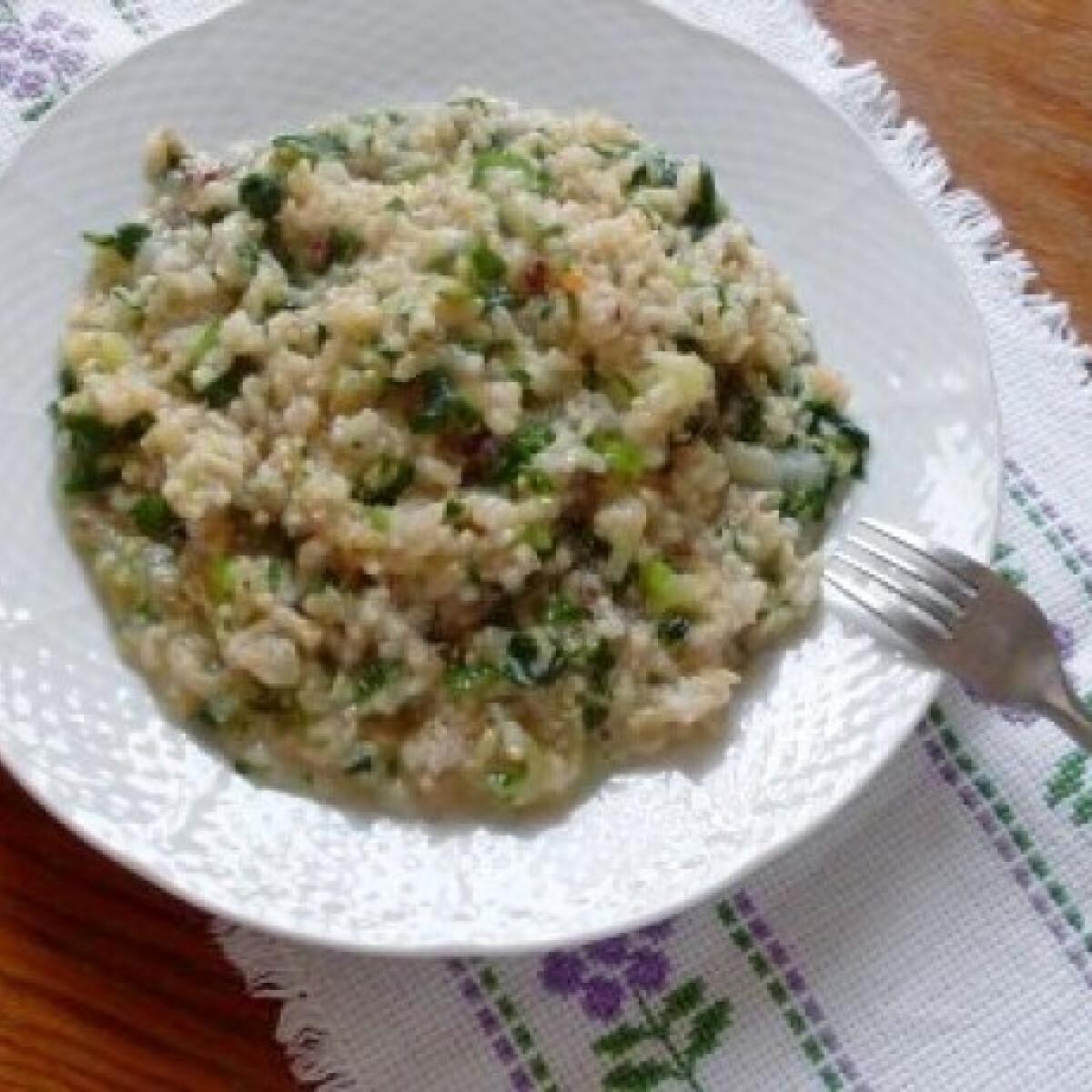 Egyszerű tavaszi rizs