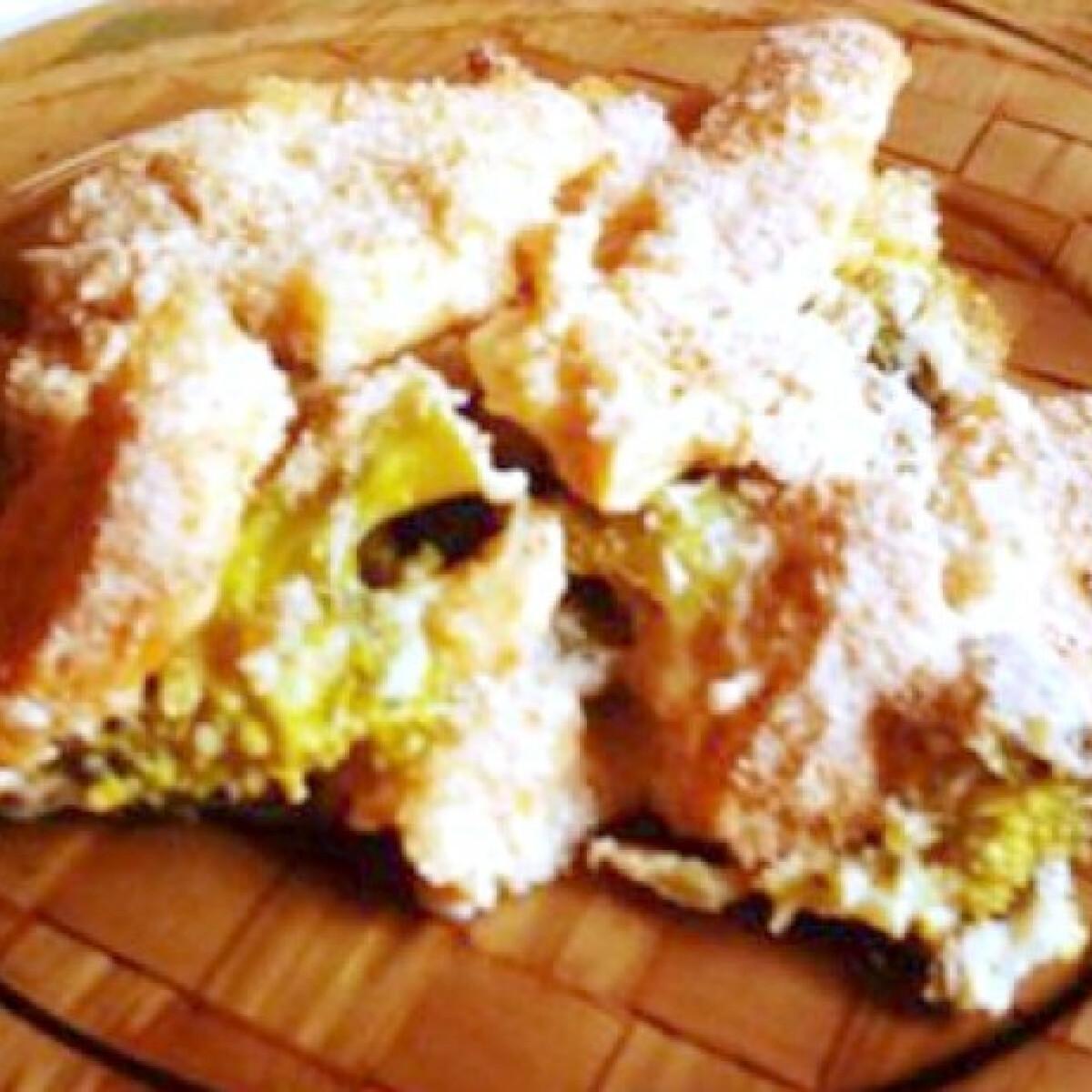 Zsemlemorzsás brokkolis csirke