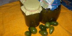 Zöldparadicsom-lekvár