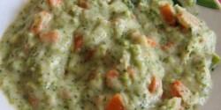 Sárgarépa-brokkoli főzelék