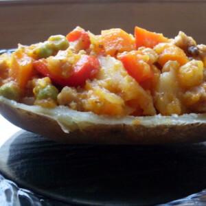 Charquican - chilei töltött krumpli