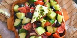 Horiatiki, a görögök salátája