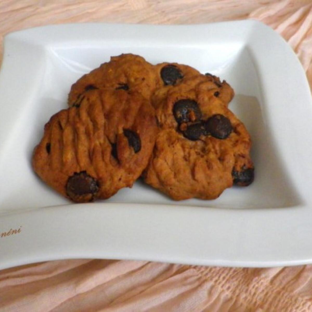 Ezen a képen: Csokis-banános keksz