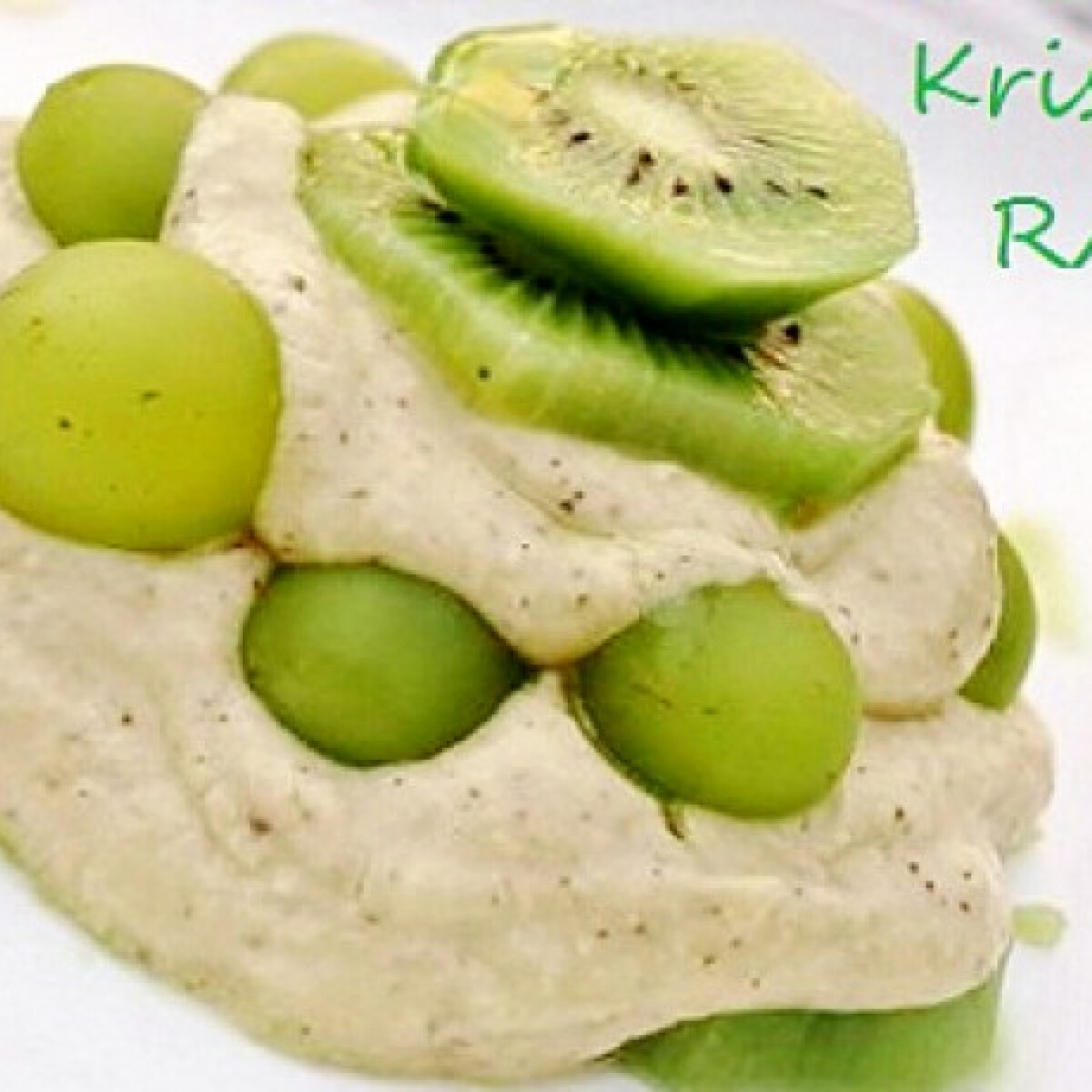 Vitamindús tejmentes kivijoghurt